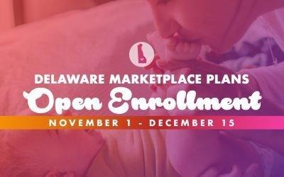 Delaware Marketplace Open Enrollment Begins November 1st